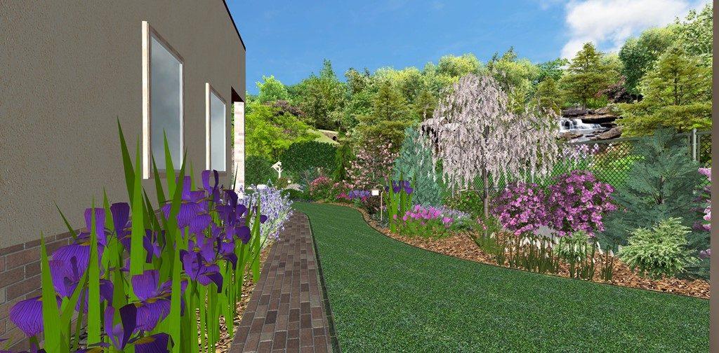 Pohľad-do-záhrady-od-prístrešku-pre-auto-2-1024x504